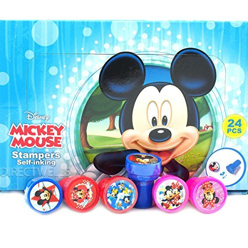 by Disney Disney Mickey Mouse 24 Stampers Party Favors IN BOX