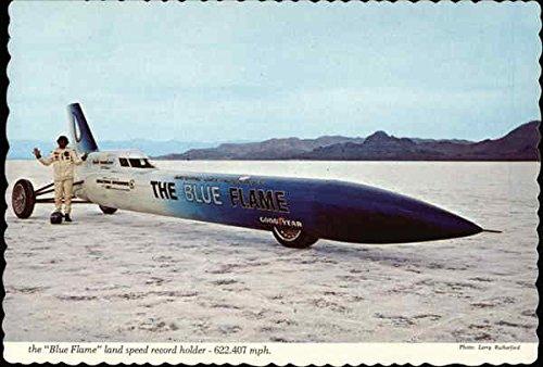 (The Blue Flame, Land Speed Record Holder Aircraft Original Vintage Postcard)