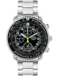 Men's SNA411 Flight Alarm Chronograph Watch