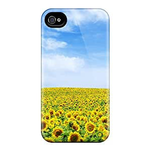 New Sunflower Landscape Cases Compatible With Iphone 6