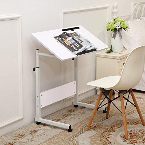 Unicoo Height Adjustable Laptop Cart Computer Tabel