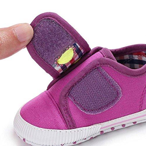 Nacidos Niña Blanda Lona Zapatos Antideslizantes De Cuna Pasos Suela Primeros Caliente Rosa Bebe Niño Fossen Recién IXwxWdqzXO