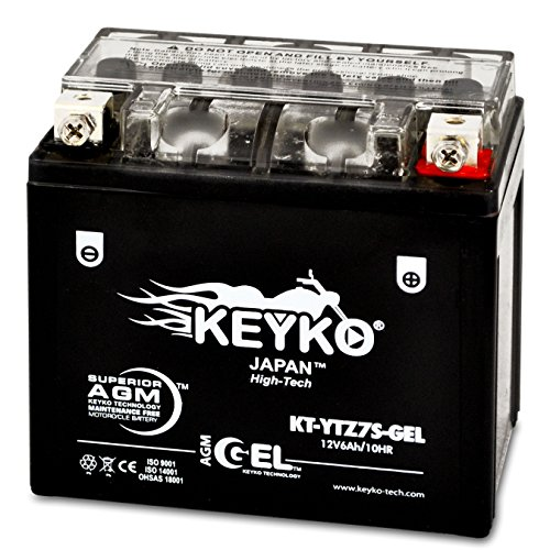 04 Replacement Motorcycle Battery - 9