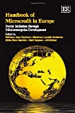 Handbook of Microcredit in Europe, Bárbara Jayo, 1848441940