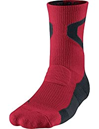 Air Jordan Jumpman Dri-Fit Crew Mens Socks Red/Black 589042-695