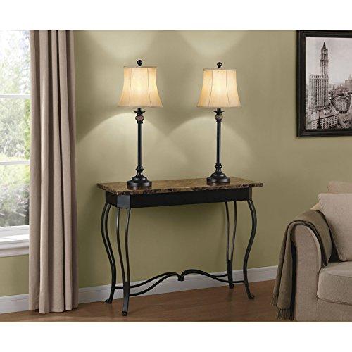 Portfolio Barada 3-Piece Lamp Set with Bronze Shades