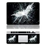 Vati Leaves Removable Batman Protective Full Cover Vinyl Art Skin Decal Sticker Cover for Apple MacBook Air 11.6