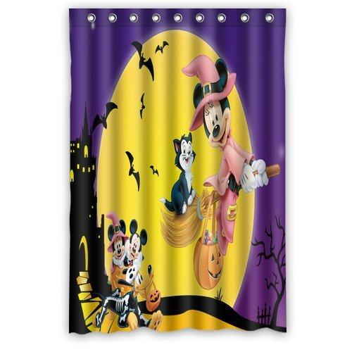 ScottShop Custom Mickey Mouse Halloween Shower Curtain St...