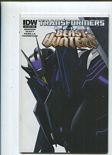 Transformers #3 Beast Hunters Unread New Near Mint Icon 2011 13