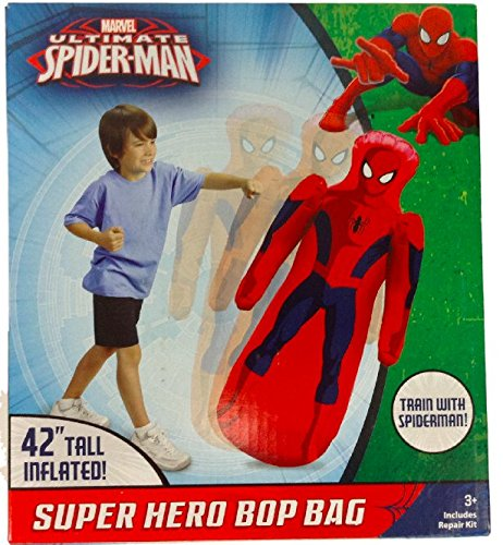 Spider-man Super Hero Bop Bag 42 tall (Spider Bag Man Bop)