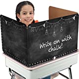 Really Good Stuff Privacy Shields Chalkboard Black