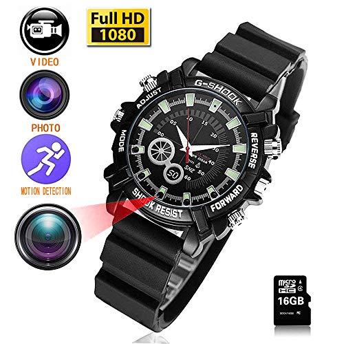1080P Waterproof Camera Watch - 5