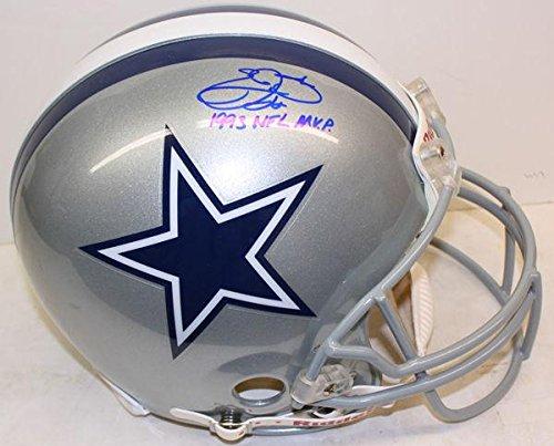 Emmitt Smith Autographed Helmet - Proline Fs Inscribed Uas02013 - Upper Deck Certified - Autographed NFL Helmets