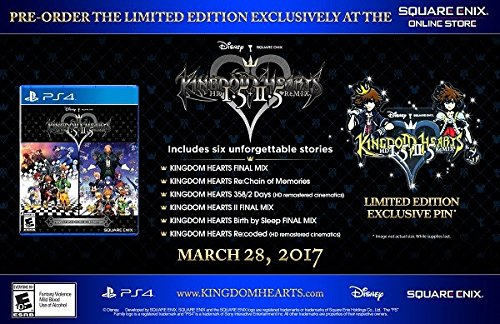 kingdom hearts 3 deluxe edition pin