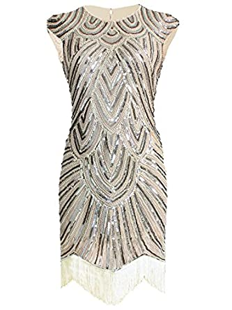 Amazon.com: Vijiv Art Deco Great Gatsby Inspired Tassel