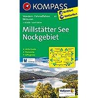Millstätter See, Nockgebiet: Wanderkarte mit Aktiv Guide, Radrouten, alpinen Skirouten und Panorama. GPS-genau. 1:50000: Wandelkaart 1:50 000 (KOMPASS-Wanderkarten, Band 63)