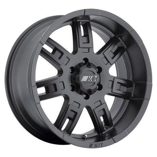 (Mickey Thompson Sidebiter II 17x9 5x127 -12mm Matte Black Wheel)