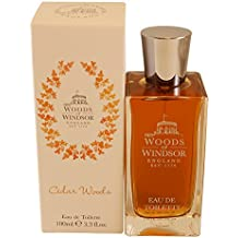 Woods Of Windsor Cedar Woods Eau de Toilette Spray, 3.3 Ounce