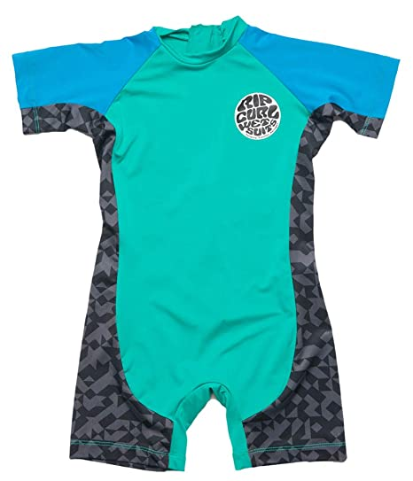 ae310ca70e Rip Curl Kids Baby Boy's Aggrolite Spring (Infant/Toddler/Little Kids) Aqua