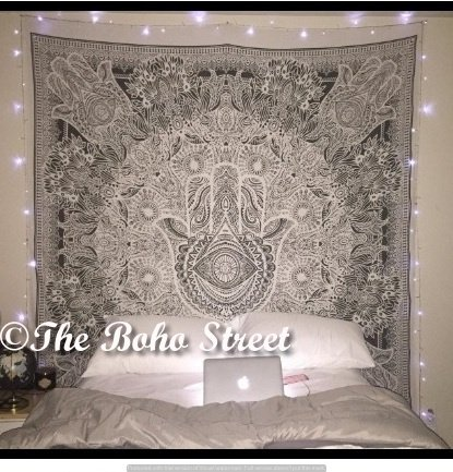 Exclusive Hamsa Hand Branded Tapestry For Goodluck By