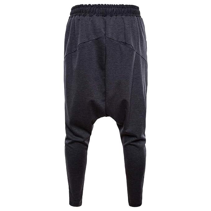Btruely Herren_Pantalones Pantalones Largo para Hombre Invierno Pantalón Deportivo Suelto Casuales Jogger Hip Hop Estilo Urbano Chándal de Hombres con ...