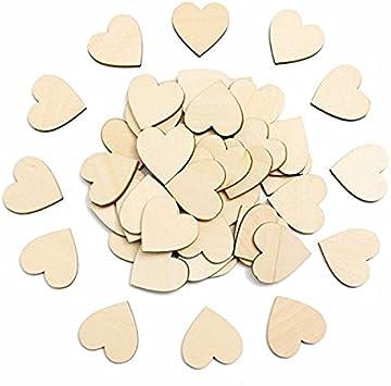 Pixnor Lot de 100 disques de d/écoration de mariage et bricolage