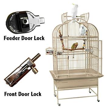 Amazon.com: Del Rey Jaulas superior Line Parrot Cage SLT ...