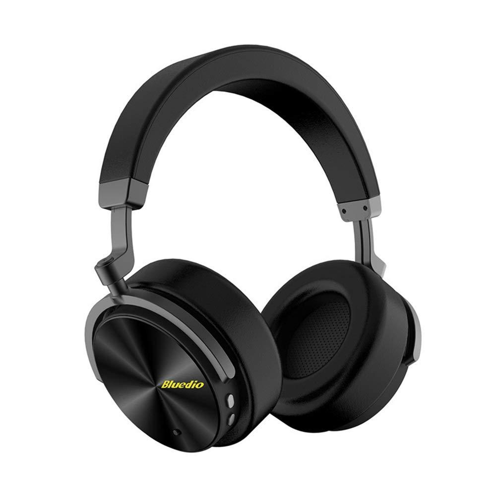 Headphone Bluetooth、コンピューター、ポータブル、ゲーミングヘッドセット、ヘッドセット、ワイヤレス格納式、折りたたみ式、 (Color : Black) B07R3F46XF