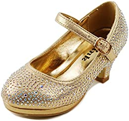Amazon.com: Gold - Shoes / Girls: Clothing Shoes &amp Jewelry