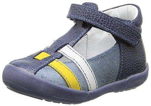 Minibel Kabic Baby Jungen Lauflernschuhe Blau - Bleu (10 Jean/Jean)