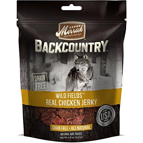Merrick Backcountry Wild Prairie Real Chicken Jerky Treat, 4