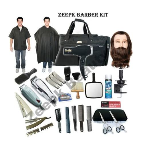 Hot Complete Cosmetology Student Barber Kit for Hair Styling, Barbering School #3