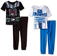 Star Wars Boys Friend Or Foe Uniform 4-Piece Pajama Set