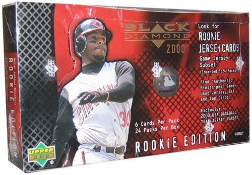 2000 Upper Deck Black Diamond Rookie Edition Baseball Cards Unopened Hobby Box