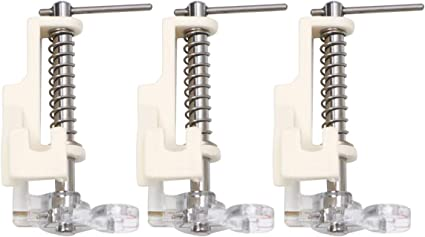 Stainless Steel Low Shank Free Motion Quilting Presser Foot For Sewing Machines