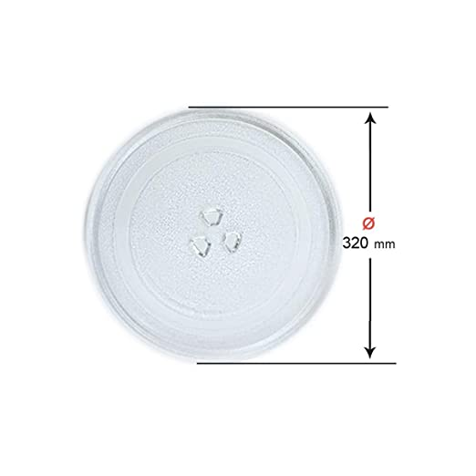 Recamania Plato microondas LG 320mm (Anclaje 12mm) ML-2881 ...
