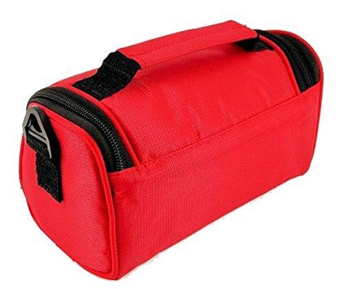Porter l'épaule rouge Sac cramoisi Noir à à pour Noir Rouge Cramoisi TGC Femme awT1An1q