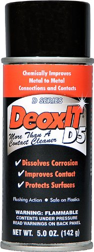 CAIG Laboratories DeoxITDN5 Spray, (NSN-6850-01-519-5548) 5% solution 163 g by CAIG Laboratories