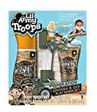 Lil' Army Troops Operation Groom & Go 4 Piece Bath Time Play Set-with Body Wash & Bath Foam-Pretend to Shave in The Tub