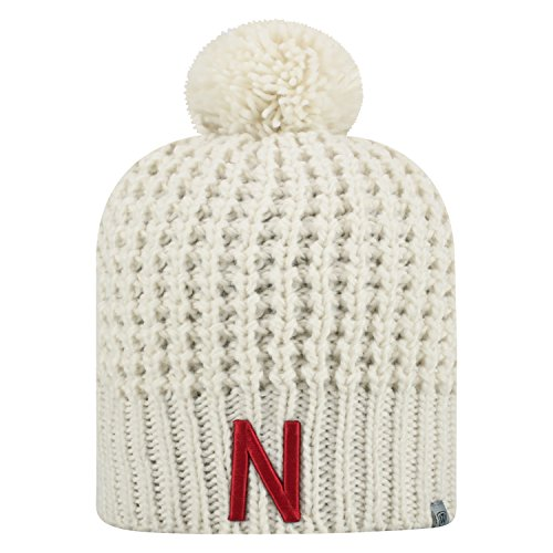 Top of the World Nebraska Cornhuskers Official NCAA Uncuffed Knit Slouch 1 Beanie Hat 477039