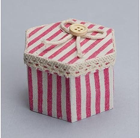 Unidades 30 piezas, Bombonera caja cartón recubierto de tela con ...