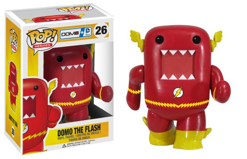 Funko Pop Heroes Domo Flash Vinyl Action Figure -
