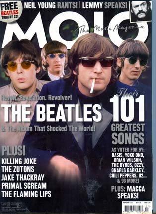 Mojo Music Magazine July 2006: The Beatles, Killing Joke, The Flaming Lips, Neil Young, Primal Scream, Lemmy Kilmister