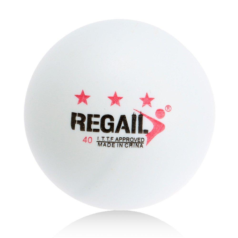 Docooler 100pcs Tennis de Table 3 étoiles 40mm Avancé formation Balles de Ping Pong