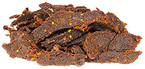 People's Choice Beef Jerky - Tasting Kitchen - Sweet Chili Habanero - Gourmet Handmade Craft Meat Snack - 1 LB - Habanero Beef