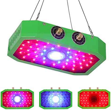 COB Grow Light, Tek Blossom 1000W Dimmable Growing Lamp for Indoor Plant, Full Spectrum, Adjustable Veg and Bloom Dimmer