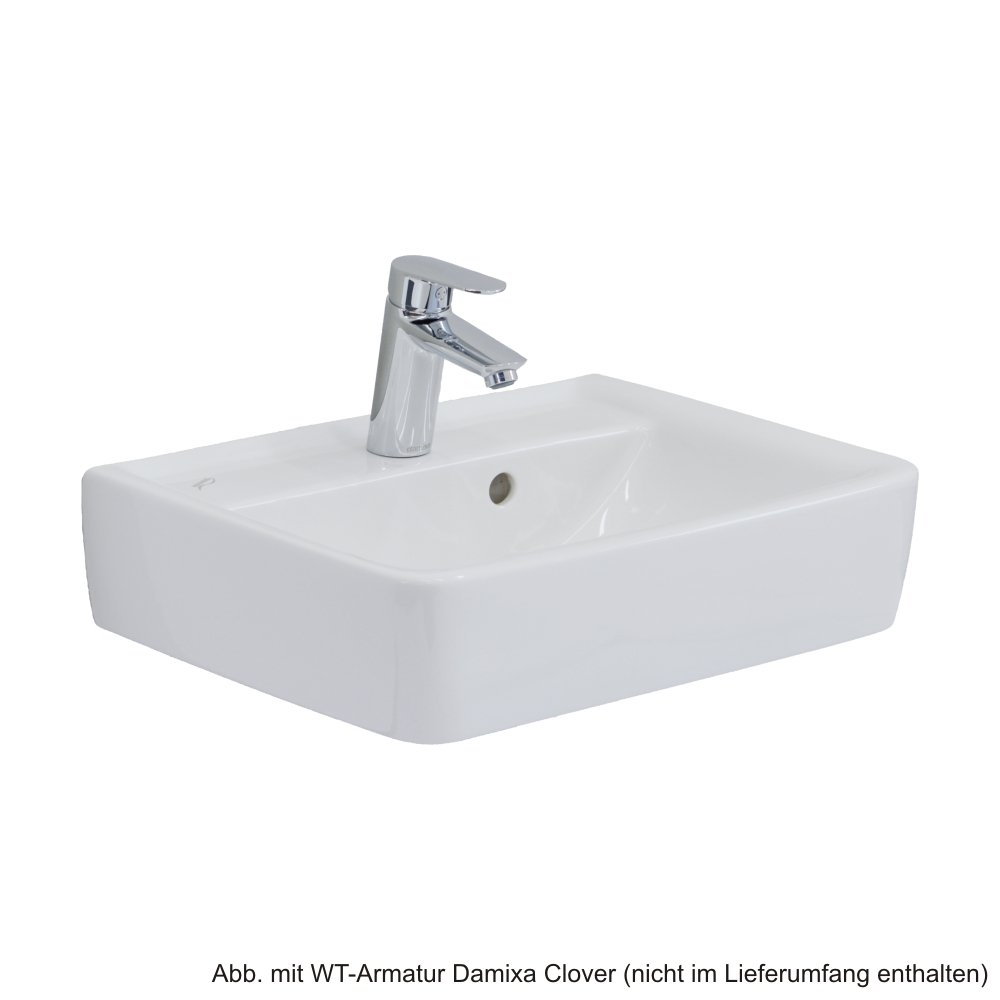 Keramag Handwaschbecken Renova Nr.1 Plan, 272150 50x38cm weiß ... | {Waschbecken rechteckig keramag 55}