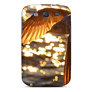 Awesome Phone Case Defender Tpu Hard Case Cover For Galaxy S3- Landscapes Birds