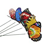 Misright Colorful Fairy Butterfly On Stick Ornament Home Garden Vase Lawn Art Craft Decor