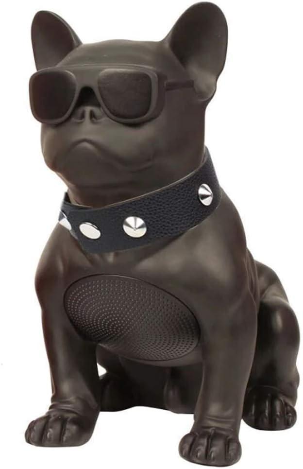 Altavoz Bluetooth inalámbricoM10 Bulldog Negro Portatil Estereo Audio HD Exterior Controlador Integrado FM Radio USB TF Card